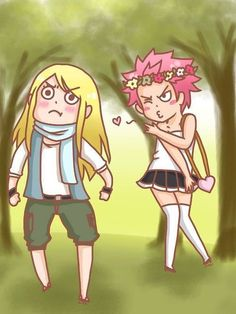 Natsu is such a pretty lady