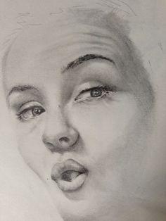 Portrait. Pencil.
