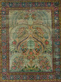 Swirly carpet