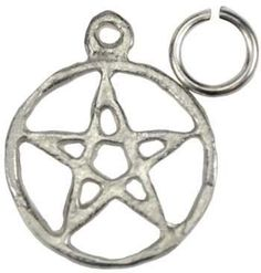 Pentagram Charms - 10 Pack