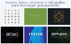 Iconos, fotos, vectores y otros elementos gráficos gratis #recursosgraficos