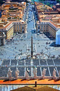 Piazza San Pietro - Vatican City (von fabujulous)