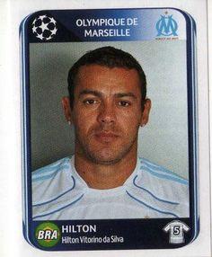 MARSEILLE - Hilton 366 PANINI UEFA Champions League 2010-2011 Football Sticker