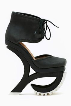 Alleviate Platform by #JeffreyCampbell (How does this work? lol)