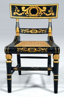 "Southern Folk Artist & Antiques Dealer/Collector: Baltimore Painted ""Fancy"" furniture 1790-1840"