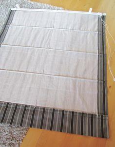 Laskosverhomekanismien asentaminen ~ Tee-se-itse-naisen sisustusblogi Diy Projects, Mattress, Roman, Cotton Fabric, Home Decor, Decoration Home, Room Decor, Cotton Textile, Mattresses