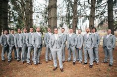Chuck with his groomsmen in the Pine Trees at Perona Farms.  Congrats to Iris and Chuck!  Their photos were featured in Rustic Wedding Chic.  http://rusticweddingchic.com/new-jersey-rustic-wedding