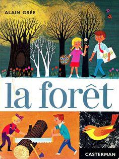 la forêt - Alain Grée 1965.                         by maptitefabrique, via Flickr