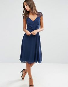 ASOS Tall | ASOS TALL Kate Lace Midi Dress