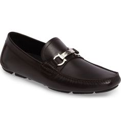 Nordstrom sale $369.90 Main Image - Salvatore Ferragamo Danubio Bit Driving Shoe (Men)