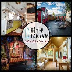 Tiny House Vacation Rentals