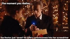 Doctor Who 'Husbands of River Song' - Saved by Screwdriver