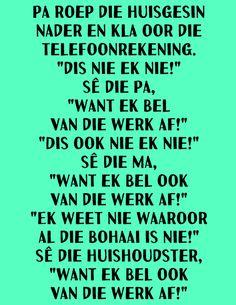 Afrikaans, Periodic Table, Jokes, Van, Periodic Table Chart, Husky Jokes, Periotic Table, Memes, Vans
