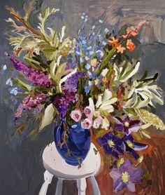 Laura Jones · Light is Fugitive - The Design Files Art And Illustration, Illustrations, The Design Files, Design Blog, Design Ideas, Art Floral, Still Life Flowers, Still Life Art, Australian Artists