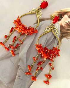 Coral Earrings, Charmed, 3, Bracelets, Passion, Instagram, Jewelry, Outfit, Summer