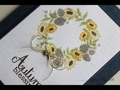 nichol magouirk: Simon Says Stamp STAMPtember | Autumn Blessings Card (video)