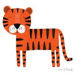 "• S A L L Y P A Y N E • UK (@sallypayne_design) posted on Instagram: ""Tiger � #procreate #tigerdrawing #stripes #illustration� • Aug 12, 2020 at 9:02am UTC"