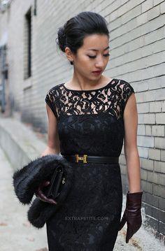 Chic in Black!
