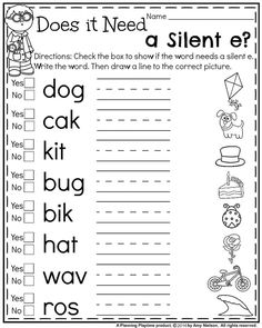 126 Best First Grade Worksheets images in 2019 | Writing activities ...