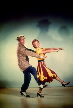 Fred Astaire and Jane Powell