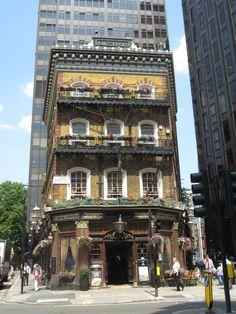 The Albert pub, Victoria Street, Westminster London.