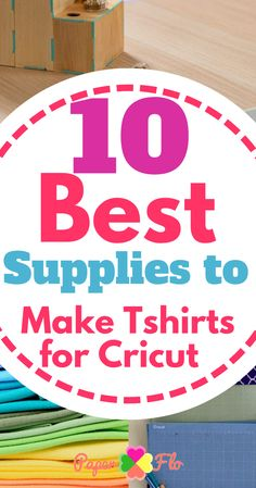 10 best supplies to make tshirts for Cricut How To Make Tshirts, Tossed, Make And Sell, Craft Fairs, Wooden Signs, Cricut, Scrapbooking, Projects, T Shirt