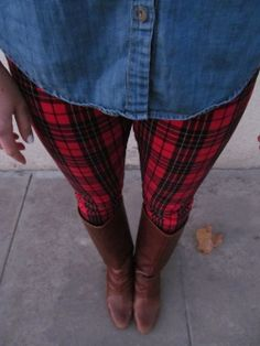 Mad About Plaid // Two Leaf Clover