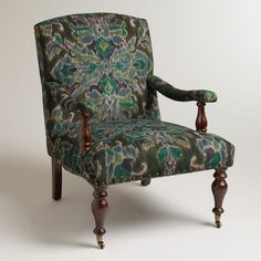 One of my favorite discoveries at WorldMarket.com: Glasgow Ikat Clifton Chair