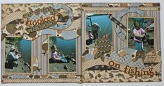 4 - Designed by Susan using Abbie Road, Cascade Trails, Wacky, Rings, Tags, Paradise, Tiny Accents, Tiny Shapes, Strips, Photos, Photo Mats