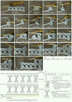 filet crochet technic More how to read charts Some info about filet increases and decreases Free Crochet Stitches from Daisy Farm Crafts - Pin by emilia on crochet Crocheted motif no. Crochet Symbols, Crochet Motifs, Crochet Diagram, Crochet Stitches Patterns, Crochet Chart, Crochet Basics, Crochet Designs, Stitch Patterns, Knitting Patterns