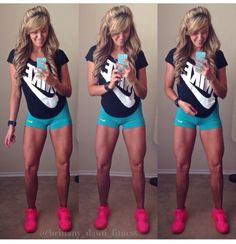 Her legs are freakin awesome Gym Plans, Weight Loss Results, Gym Girls, I Work Out, Nike Outfits, Girls Be Like, Physical Fitness, Workout Wear, Fitspiration