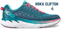 hoka-one-one-clifton-4-running-shoes Tailors Bunion, Hoka Clifton, Hoka One One Woman, Best Running Shoes, Running Motivation, Coral Blue, All In One, Road Running, Nike