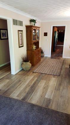"bedroom floor inspiration coretec plus 7"" - alabaster oak #coretec"