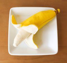 felt play food banana