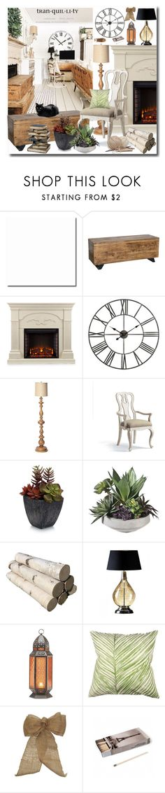 """""""Light My Fire"""" by leegal57 ❤ liked on Polyvore featuring interior, interiors, interior design, home, home decor, interior decorating, KosÃ¥s, Southern Enterprises, I Love Living and Frontgate"""