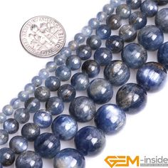 15 ste 8mm blue ink Apatite Round Gemstones Loose Beads 15 inch=50pcs