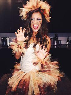 Fun lion sorority halloween costume!