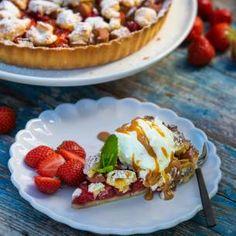 Prinsesstårta i långpanna - recept   Mitt kök Waffles, Pie, Cupcakes, Breakfast, Frosting, Brownies, Desserts, Food, Traditional