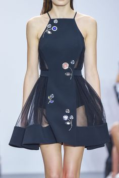 Whore for Couture — runwayandbeauty:   Detail at David Koma Spring...