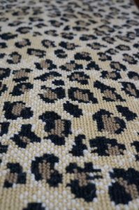 Animal Print Wool Carpet Rugs Runners