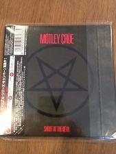 Motley Crue CD Shout At The Devil Mini Vynil Japan Rare Kiss Poison Bon Jovi