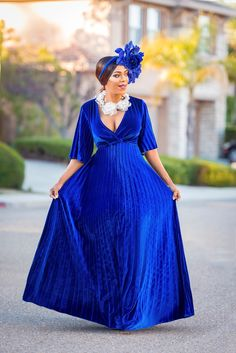 pleated velvet maxi dress