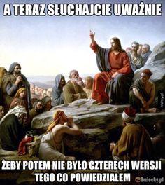 ABCs of Sharing the Gospel Jesus Meme, Best Memes, Dankest Memes, Funny Memes, Wtf Funny, Hilarious, Lds Blogs, Polish Memes, Love Your Enemies