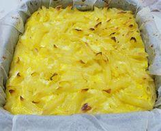 Budinca de paste cu branza de vaci Paste, Macaroni And Cheese, Pineapple, Ethnic Recipes, Food, Mac Cheese, Mac And Cheese, Meal, Pine Apple