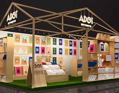 Stand Adot Trade Show Booth Design, Exhibition Stand Design, Exhibition Display, Exhibition Space, Display Design, Signage Design, Cafe Design, Store Design, Design Design