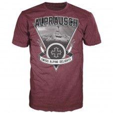 Gondel (cordovan) Alprausch men's T-shirt Mens Tops, T Shirt, Supreme T Shirt, Tee, T Shirts