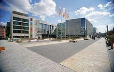 Újbuda City Centre by Garten Studio « Landezine | Landscape Architecture Works #publicspace #landscape #landezine