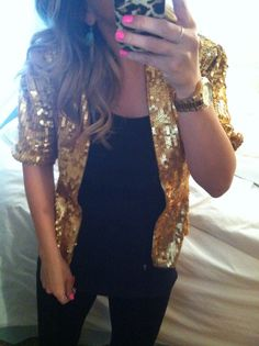 Gold Glitter = <3