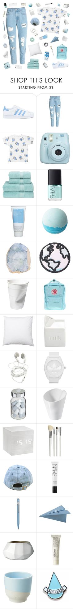 """INTERDIGITATE"" by cleobluesky ❤ liked on Polyvore featuring adidas, H&M, Fujifilm, Christy, NARS Cosmetics, Korres, Disney, Stoney Clover Lane, Fjällräven and BIA Cordon Bleu"