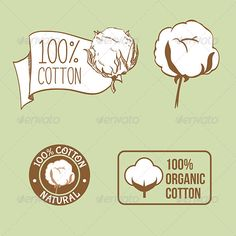 Cotton Labels #graphicriver